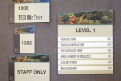 Wayfinding Directional Signs